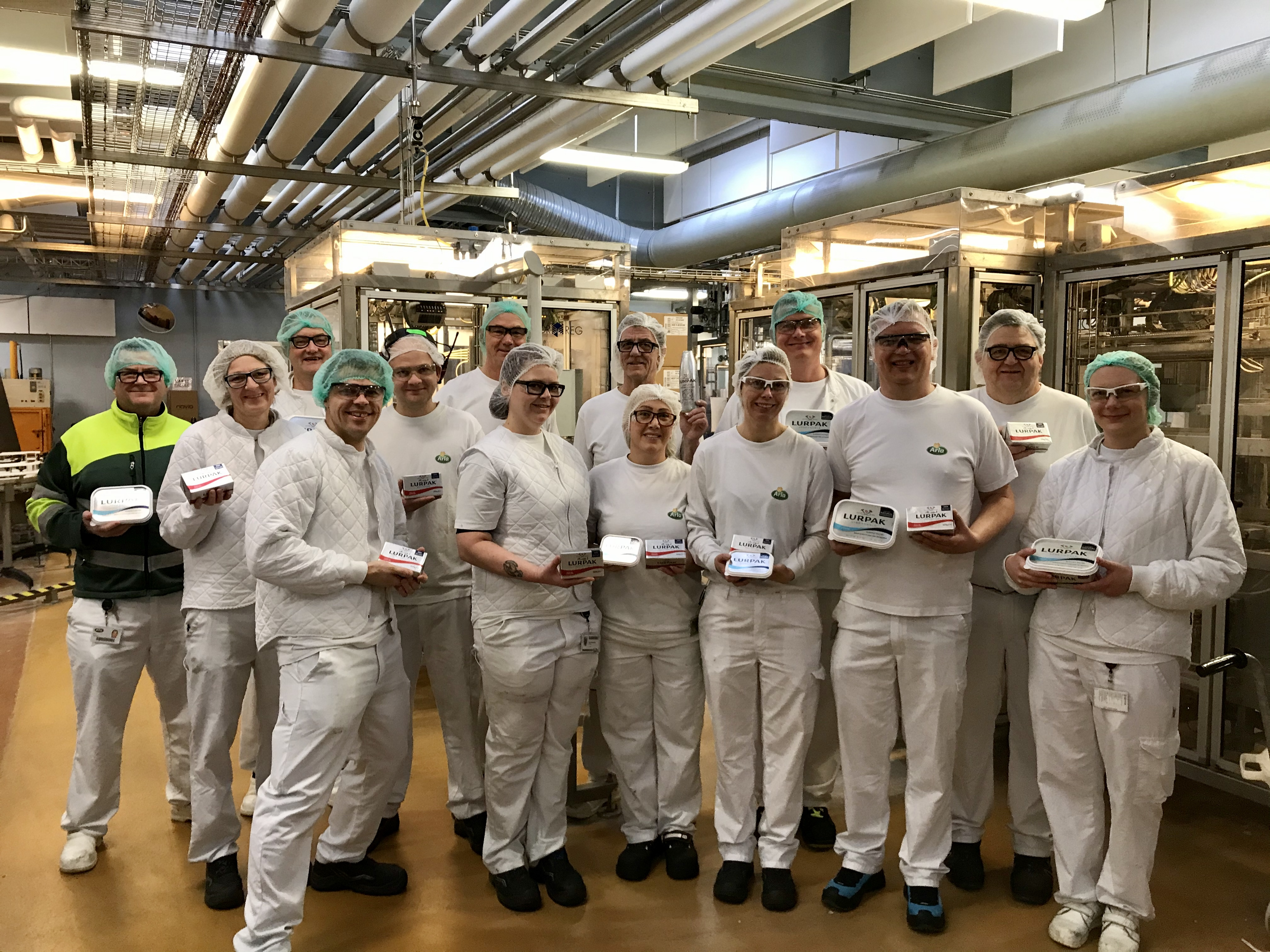 The employees at Holstebro Dairy had a particularly busy run-up to Christmas