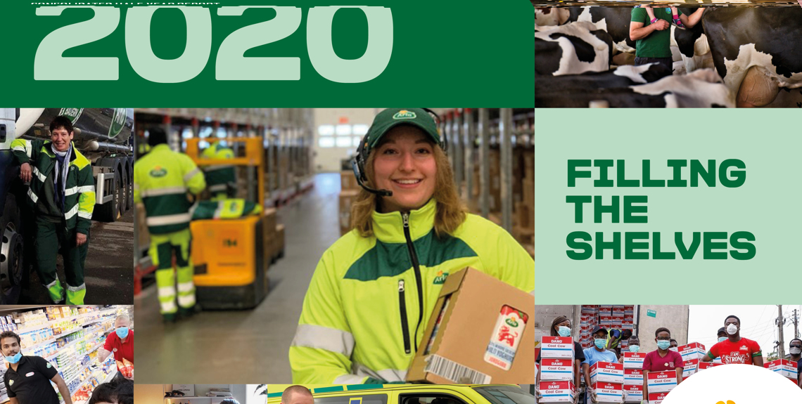 Arla Haft Year Report 2020 frontpage