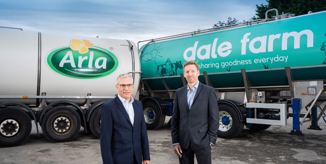 Arla signs contract with Northern Irish whey protein supplier