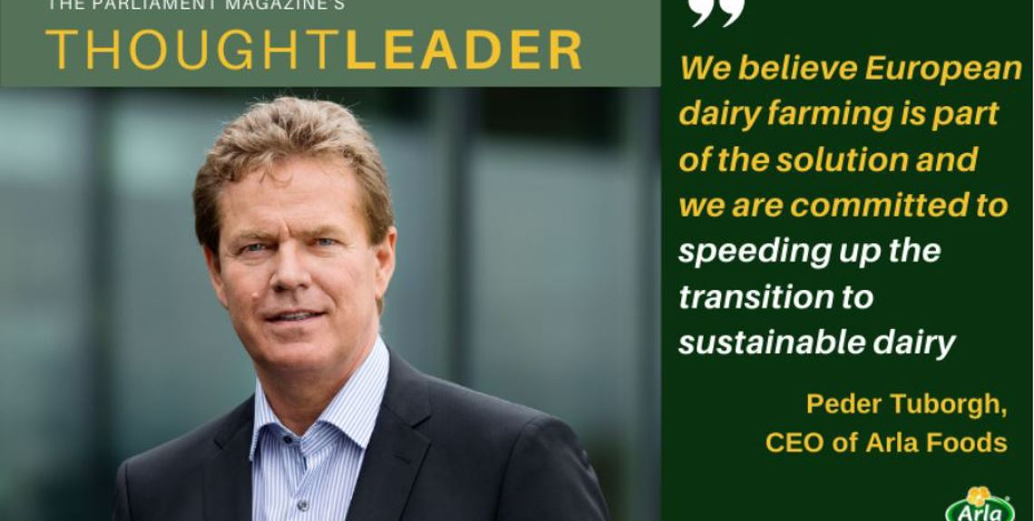 Arla has joined the European Parliament's Green Recovery Alliance