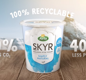 Arla's new skyr bucket