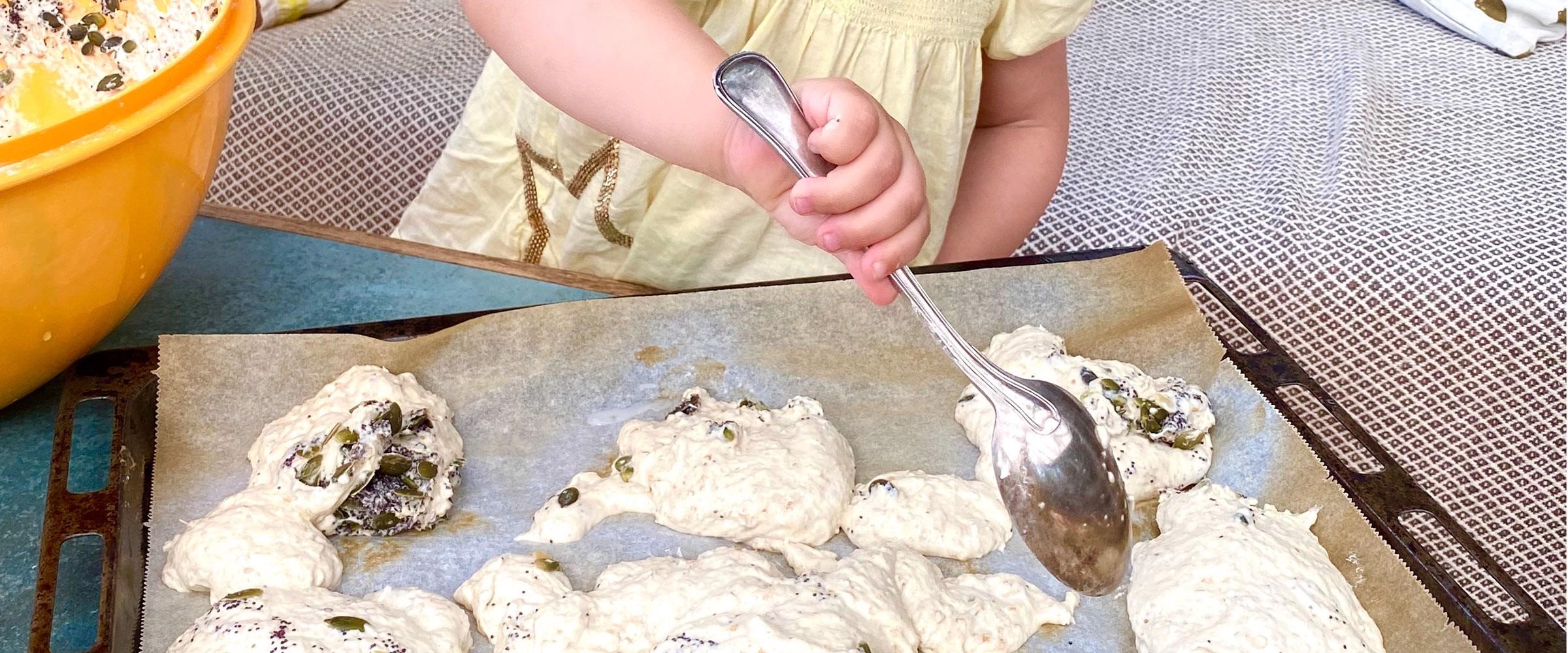 Børn i køkkenet - hvad kan dit barn lave i hvilken alder