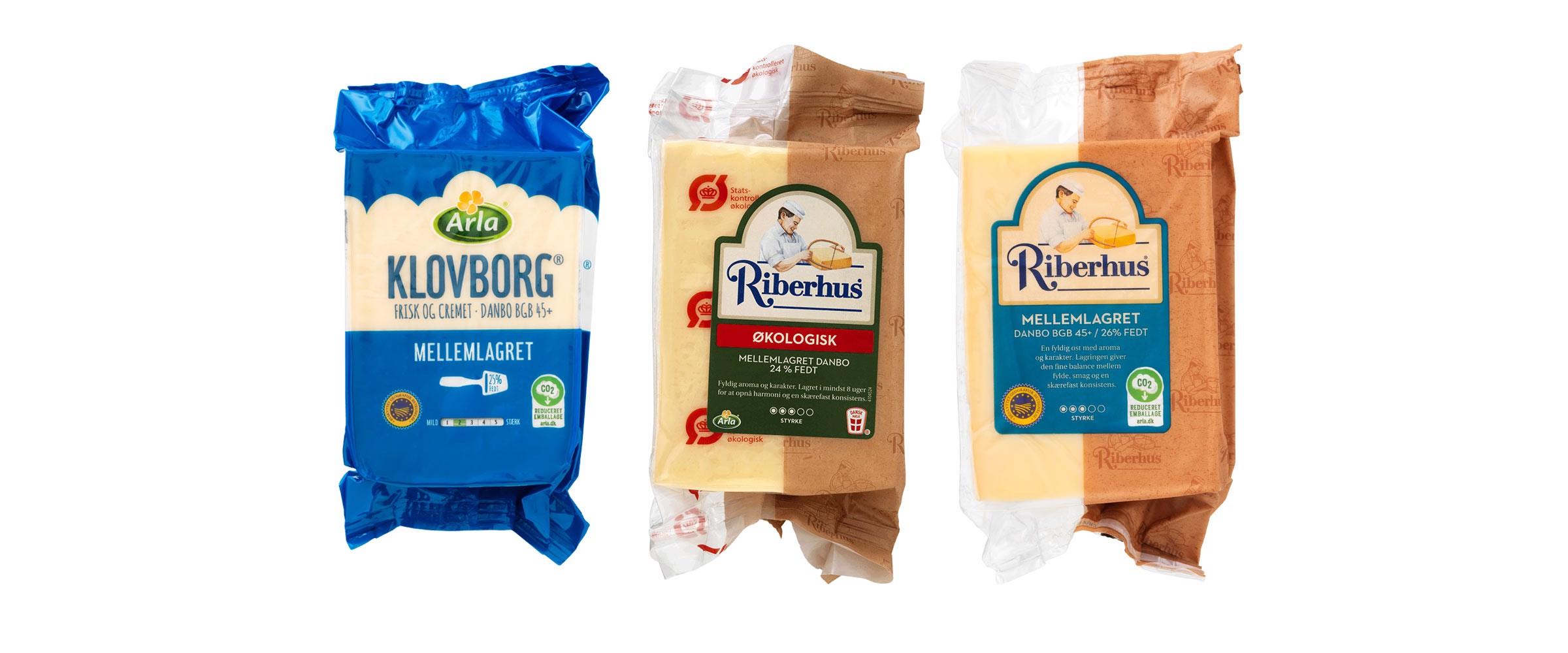 21,5 millioner oste får mere klimavenlig emballage