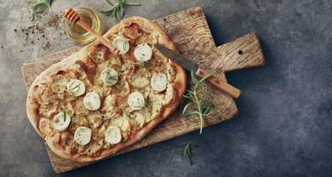 Hvad er hvid pizza?