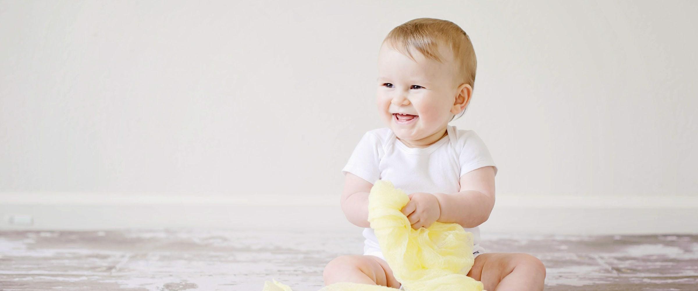 Fem tips: Hjælp din baby til at sætte sig op