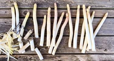 Hvide asparges