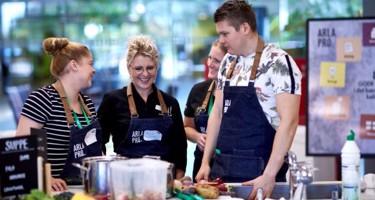 Arla Pro hjælper bæredygtighed ind i de danske storkøkkener med prisbelønnet workshop