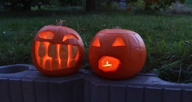 Sådan laver du flotte græskar til halloween