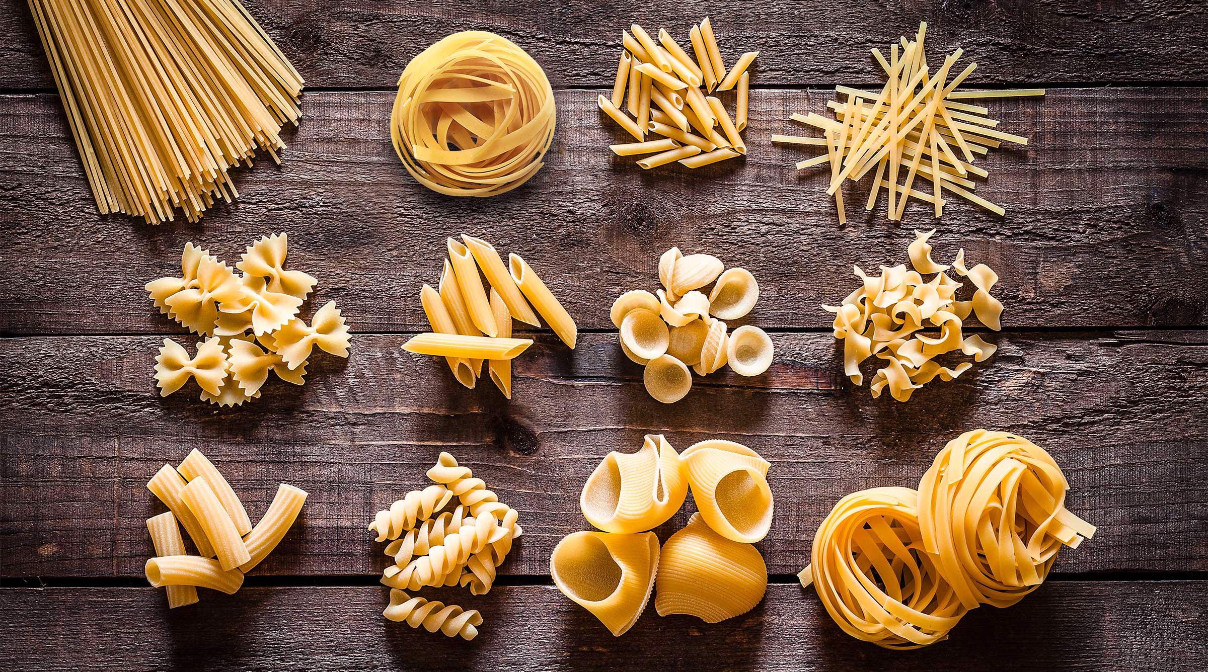 Pastasorter – vilken pastaform passar till vad?