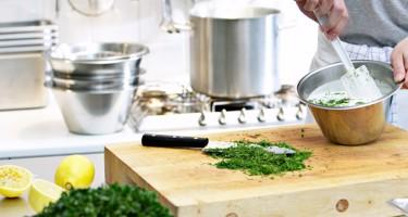 Matlagningsordlista från A till Ö