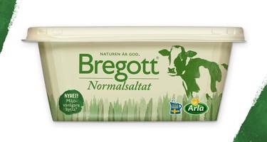 Bregott® 600g  får miljövänligare bytta