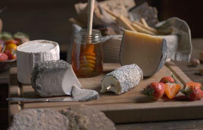 Komponera en ostbricka