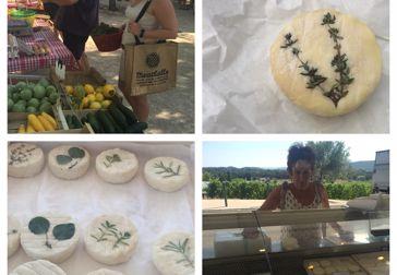 Hemmagjord örtost - ett vackert blickfång på ostbrickan!