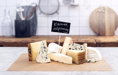 Den klassiska ostprovningen