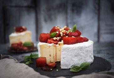 Efterrätter av ost till nyår