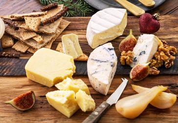 Fira jul med ostbricka från Castello!