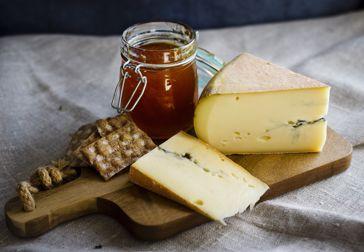 Morbier - ost med aska