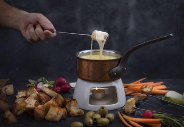 Håll värmen med ostfondue